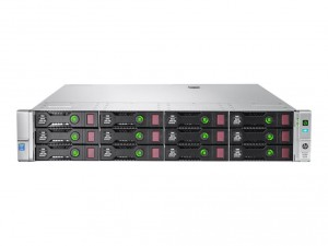 HPE ProLiant DL380 Gen9 4xBays LFF/2x10C 2660 V3 2.6GHz/32GB RAM/B140i/2x500W